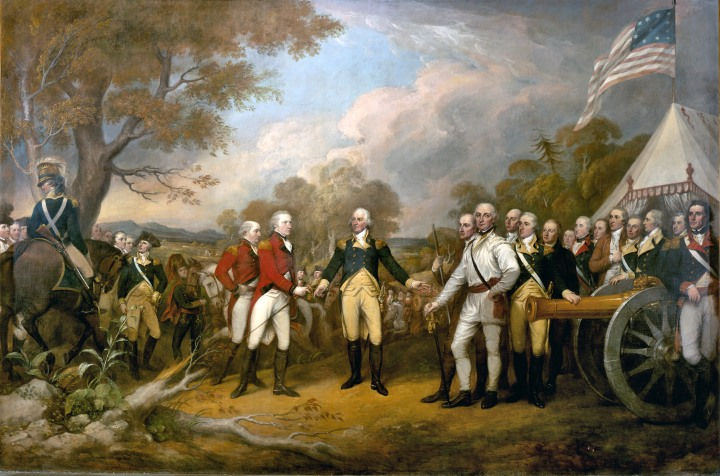 surrender-of-generap-burgoyne-at-saratoga-during-the-american-revolution-1
